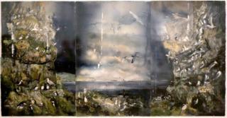 Akvarell, Lars Lerin
