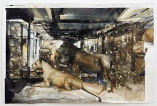 Diorama II, Lars Lerin